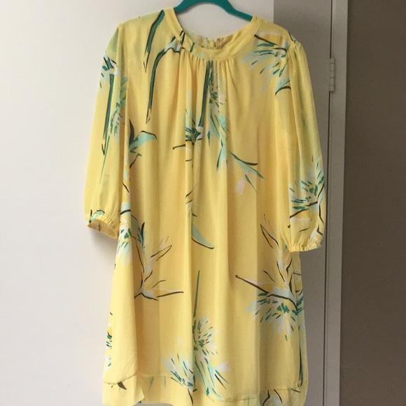 8b4744a162 eva mendes Dresses   Skirts - Gorgeous Easter dress!! Eva Mendes yellow size  XL